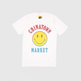 Футболка Chinatown Market Smiley Logo T-Shirt White