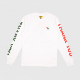 Лонгслив Chinatown Market Thank You Long Sleeve White