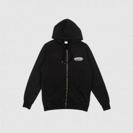 Толстовка с капюшоном Civilist Chrome Zip Hood Black