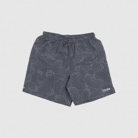 Шорты Civilist Wave Swim Shorts Black/Grey
