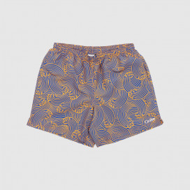 Шорты Civilist Wave Swim Shorts Orange Royal