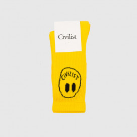 Носки Civilist Smiler Socks Yellow Civilist