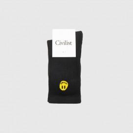 Носки Civilist Mini Smiler Socks Black