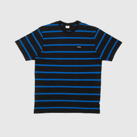 Футболка Civilist Striped Tee Black/Blue