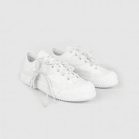 Кеды Converse X Slam Jam Edition Bosey MC OX White/White