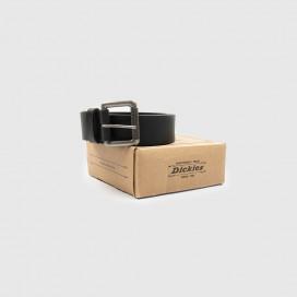 Ремень Dickies South Shore Leather Belt Black