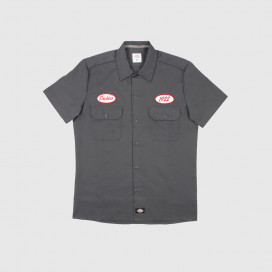 Рубашка Dickies Rotonda South Charcoal