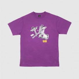 Футболка Dime Toolie T-Shirt Dark Magenta