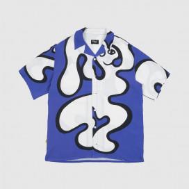 Рубашка Dime Chilling Rayon Shirt Blue