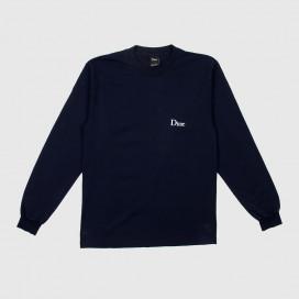 Лонгслив Dime Classic Logo L/S T-Shirt Navy