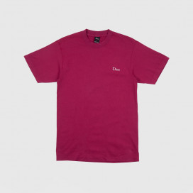 Футболка Dime Classic Logo Embroidered T-shirt Ruby