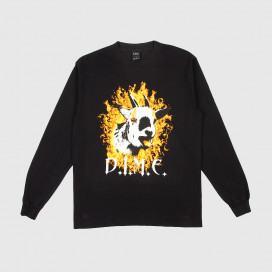 Лонгслив Dime Fire Goat L/S T-Shirt Black