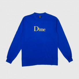 Лонгслив Dime Classic Logo L/S T-Shirt Royal