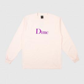 Лонгслив Dime Classic Logo L/S T-Shirt Light Pink