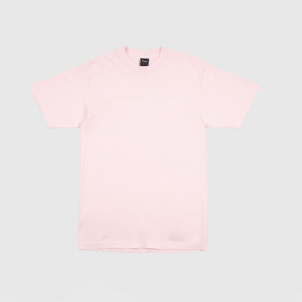 Футболка Dime Classic Logo Embroidered T-Shirt Light Pink