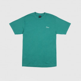 Футболка Dime Classic Logo Embroidered T-Shirt Emerald