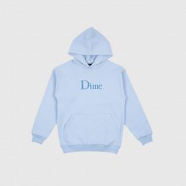Толстовка с капюшоном Dime Classic Logo Hoodie Light Blue