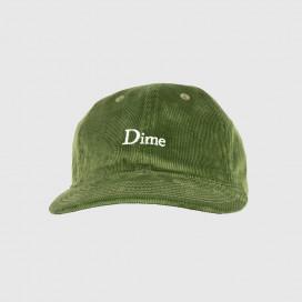 Кепка Dime Classic Logo Corduroy Cap Green