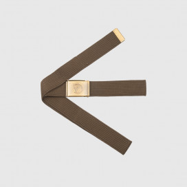 Ремень Fjallraven Canvas Brass Belt 4 cm Dark Olive