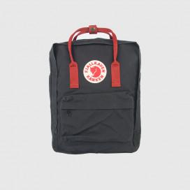 Рюкзак Fjallraven Kanken Black-Ox Red