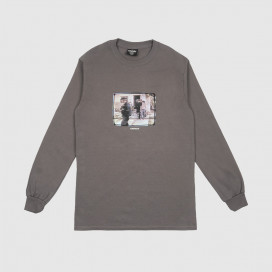Лонгслив Hockey Ricks L/S Tee Charcoal