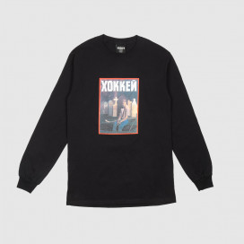Лонгслив Hockey Nik Stain L/S Tee Black