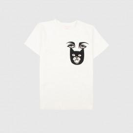 Футболка KRASNOVA clothes  With eyes White
