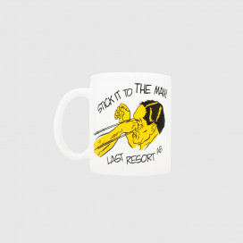Чашка Last Resort Stick it Mug White