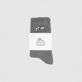 Носки Last Resort Eye Socks Grey Melange