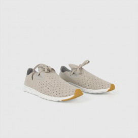 Кроссовки Native Shoes Apollo Moc Pigeon Grey/Shell White/Nat Rubber