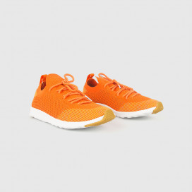 Кеды Native Shoes AP Mercury Liteknit Sunset Orange/Shell White