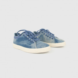 Кроссовки Native Shoes Monte Carlo Denim Acid Wash/Bone White