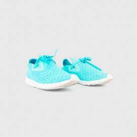 Кроссовки Native Shoes Apollo Moc Cabo Blue/Shell White