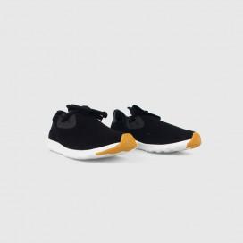 Кроссовки Native Shoes Apollo Moc Black/White/Nat Rubber