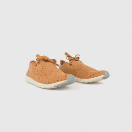 Кроссовки Native Shoes Apollo Moc Almond Beige/Pigeon Gray/White
