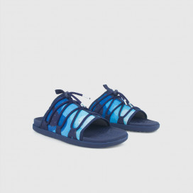 Шлепанцы Native Shoes Palmer Print Regata Blue