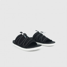 Шлепанцы Native Shoes Palmer Jiffy Black/Shell White/White