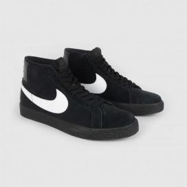 Кроссовки Nike SB Zoom Blazer Mid BLACK/BLACK-BLACK-WHITE