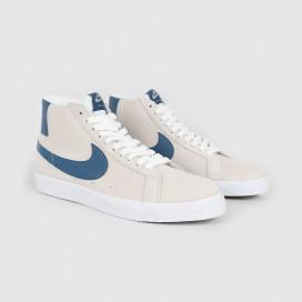Кроссовки Nike SB Zoom Blazer Mid White/Court Blue/White Blanc
