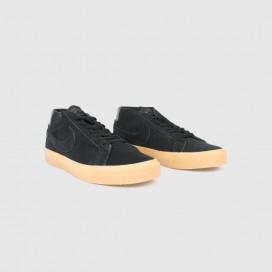 Кроссовки NIKE Nike SB Zoom Blazer Chukka Black/Black-Thunder Grey