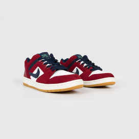 Кроссовки NIKE SB Air Force II Low Team Red/Obsidiam-White
