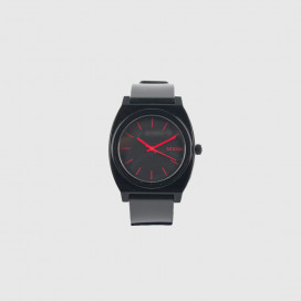 Часы Nixon Time Teller P A119-480-00 Black  Bright Pink