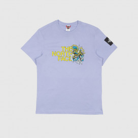 Футболка The North Face Black Box SS Graphic Tee Sweet Lavender