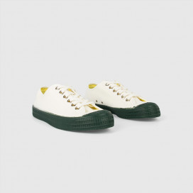 Кеды Novesta Star Master Color Sole White/Green