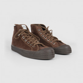 Кеды Novesta Star Dribble Corduroy Mono Brown
