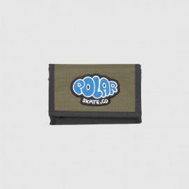 Кошелек Polar Bubble Logo Key Wallet Olive