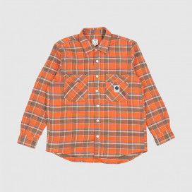 Рубашка Polar Flannel Shirt Orange