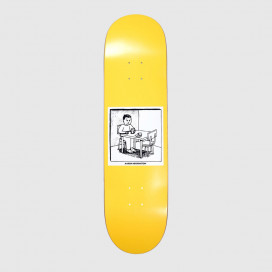 Доска Polar Aaron Herrington - Spilled Milk Yellow