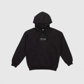 Толстовка с капюшоном Polar Default Hoodie Black