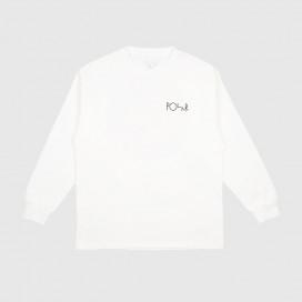 Лонгслив Polar Callistemon Fill Logo Longsleeve White